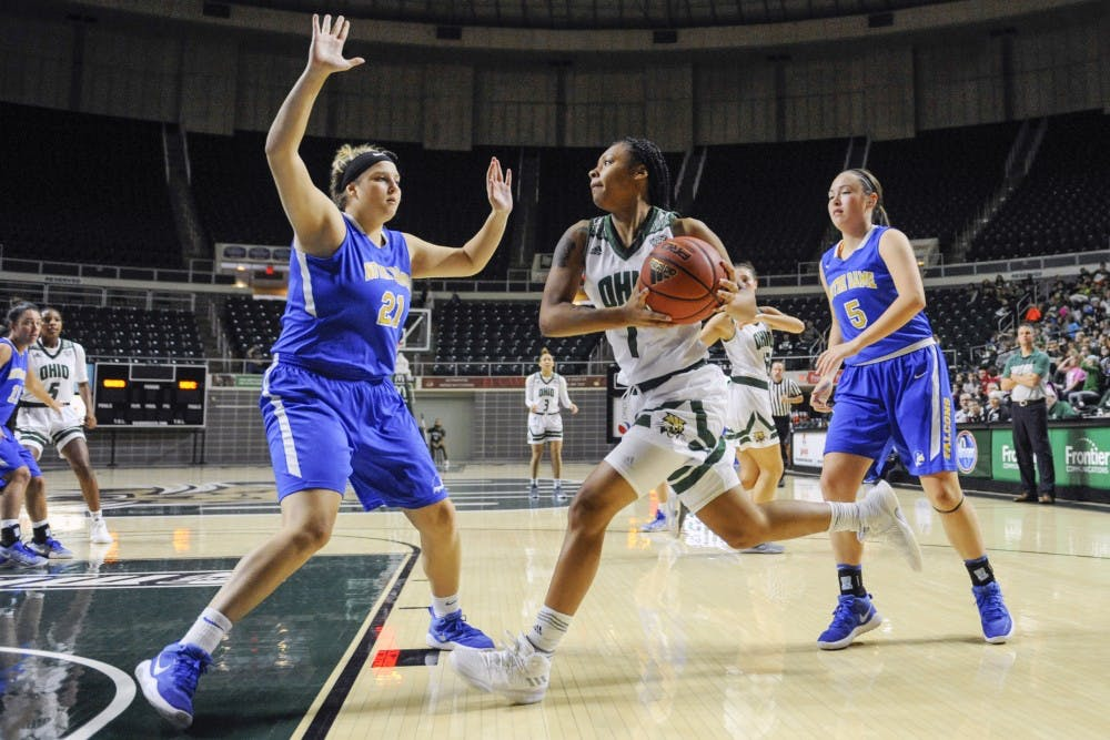 Women's basketball: Ohio struggles against IUPUI's full-court pressure, falls 76-52
