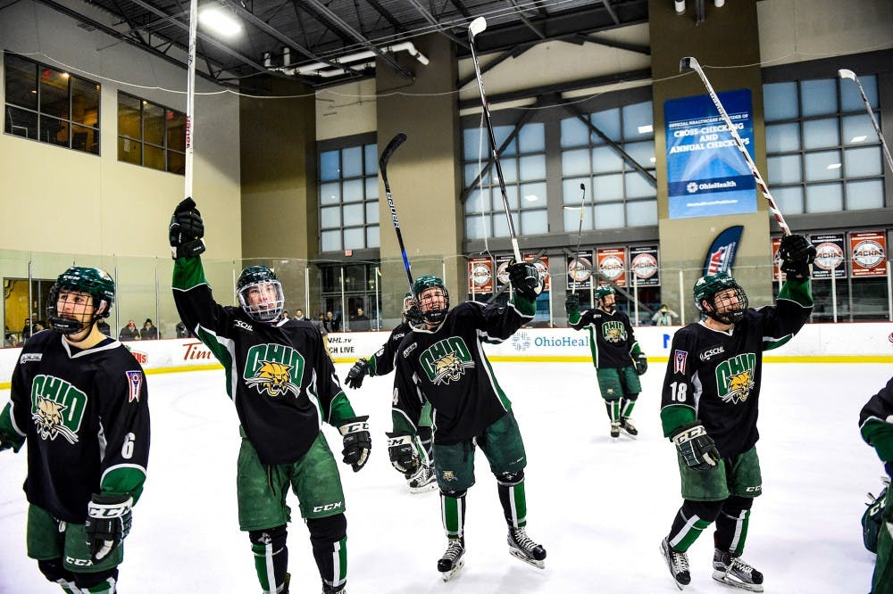 Hockey: Ohio's tough schedule gives it upper hand