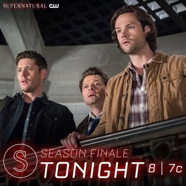 The fate of Dean hangs in the balance after the 'Supernatural' season finale. (via @cw_spn on Instagram)