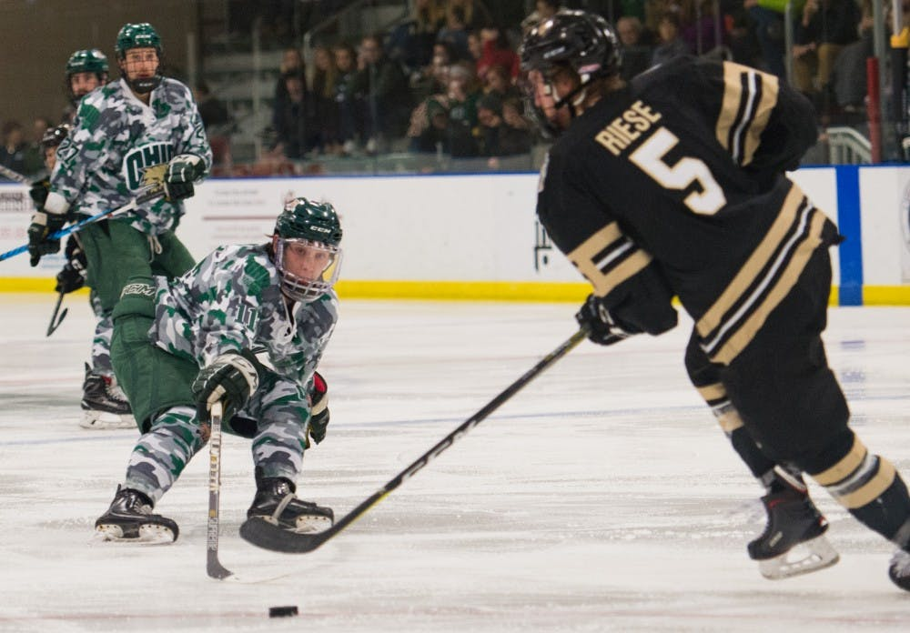 Hockey: Bobcats look to finish semester strong against Blue Hens