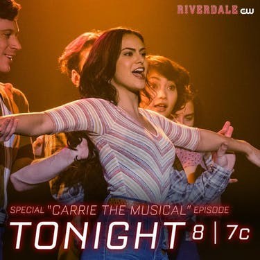 'Riverdale' went full on 'Glee' this week. (photo via @thecwriverdale Instagram)