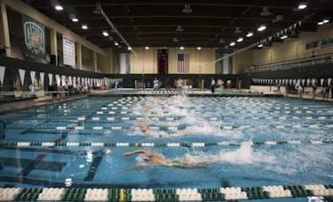 Ohio University swims against Buffalo on Saturday, November 4, 2017 MCKINLEY LAW | PHOTO EDITOR