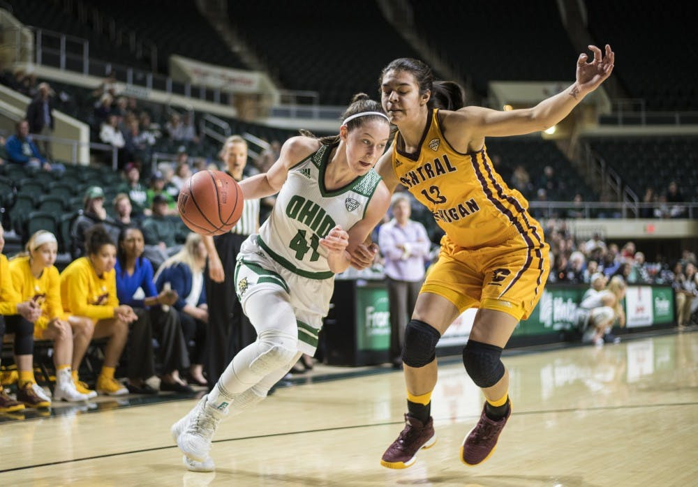 Women's Basketball: Despite a late push, Ohio falls to Central Michigan in final seconds