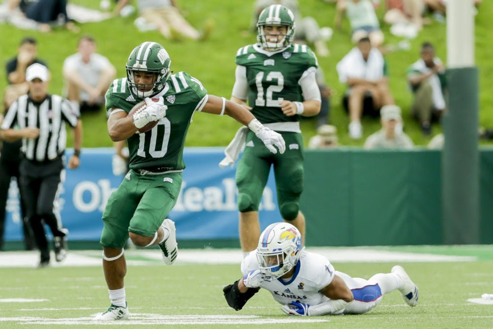 Football: Overlooked by most, Julian Ross is happy at Ohio
