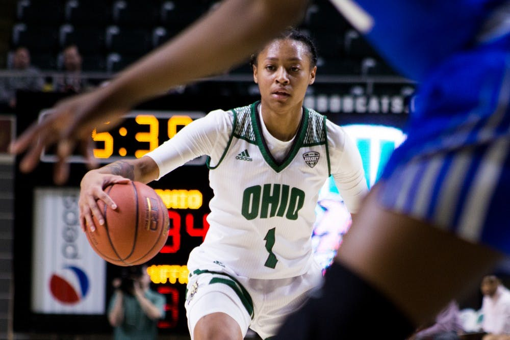 Women's Basketball: Ohio struggles to shoot, finds other ways to compete in loss to Buffalo