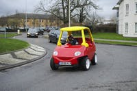 Adult-sized Little Tikes car (Ebay)