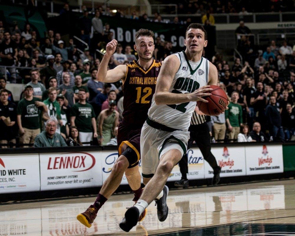 Men's Basketball: Despite career-high scoring from Gavin Block, Ohio falls 81-76 against Clemson