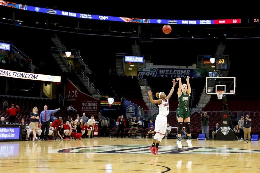 Women's Basketball: Ohio falls to Miami 69-66 in quarterfinals of MAC Tournament
