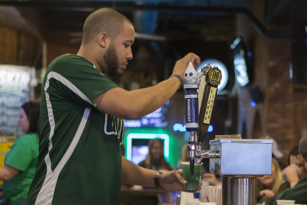 Green Beer Day is the best day for some bargoers