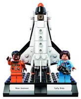 """Lego is releasing a """"Women of Space"""" set in November. (photo via @LEGO_Group Twitter)"""