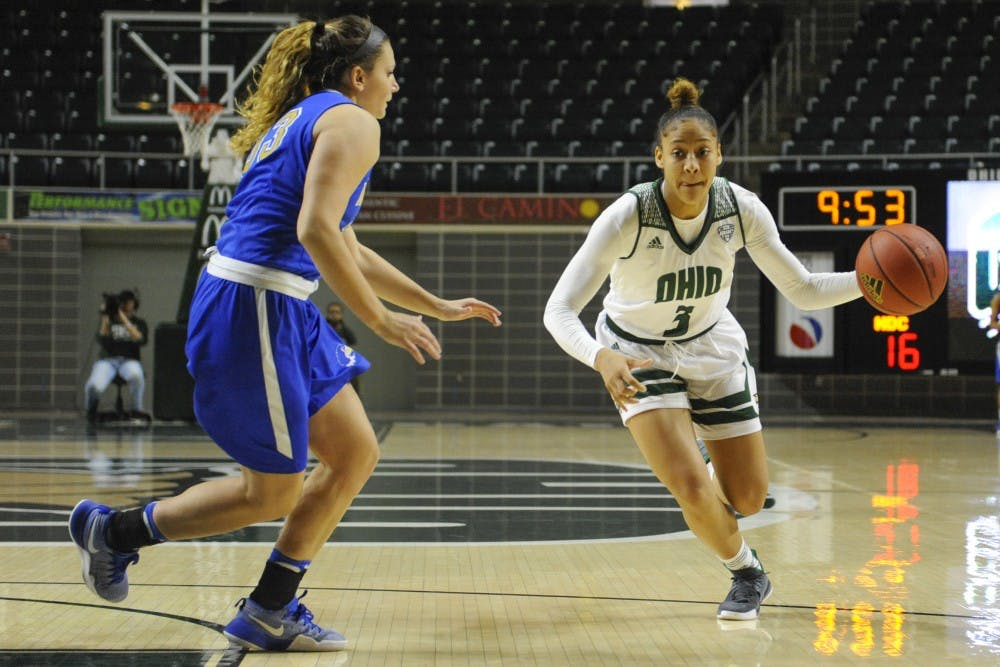 Women's Basketball: Ohio has rebounding woes against Toledo on the road, loses 75-57 in Savage Arena