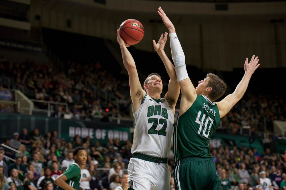 Men's Basketball: Ohio wins a 96-94 thriller in four overtimes over Indiana State