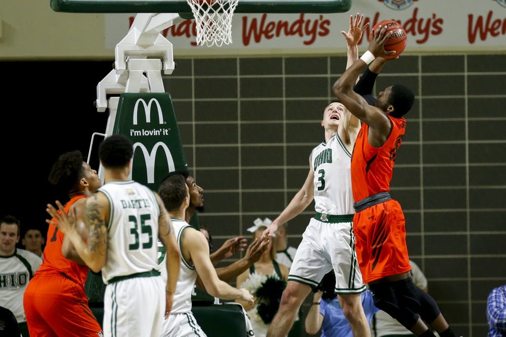 Men's Basketball: Ohio's defense forces nearly 20 turnovers en route to 75-59 victory