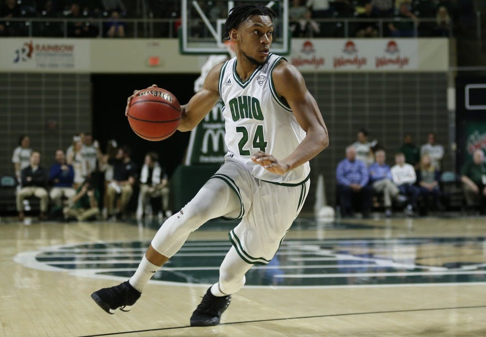 Men's Basketball: Mike Laster closes final regular season game with 22 points in win over Miami