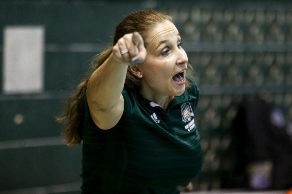 Swim and Dive: Head coach Rachel Komisarz-Baugh will not return next season