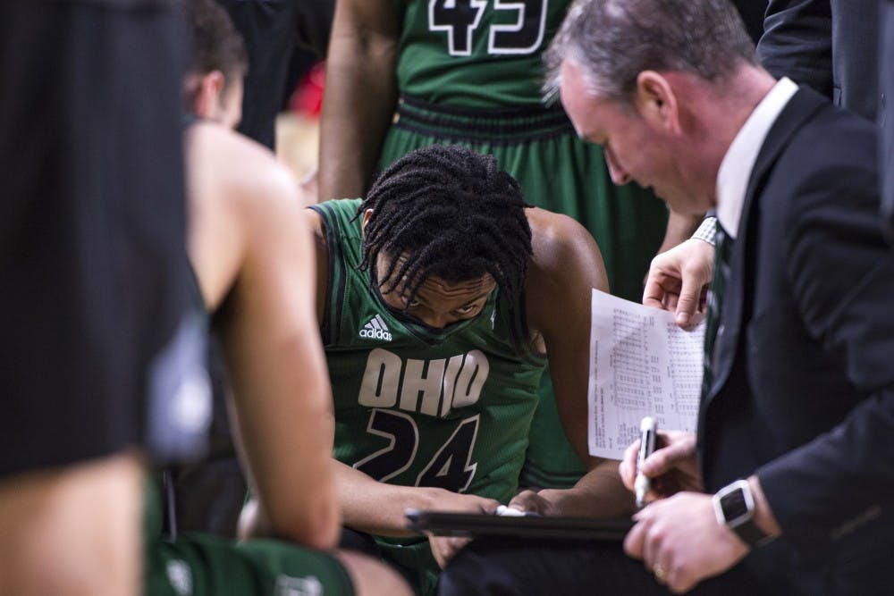 Men's Basketball: The End for Mike Laster
