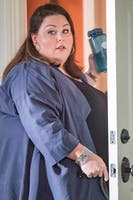 It was revealed in Tuesday's episode of This Is Us that Kate is pregnant. (via @ChrissyMetz on Twitter)
