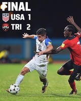 USMNT lost to Trinidad and Tobago on Tuesday and here's why. (Photo via @ussoccer Instagram)
