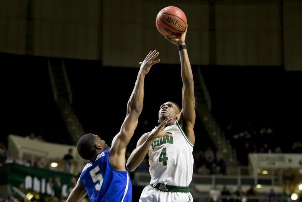 Men's Basketball: Teyvion Kirk's performance against Buffalo a microcosm of his development