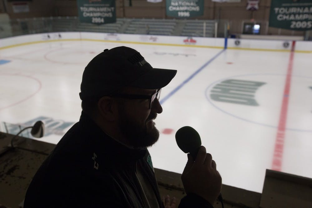 Hockey: Jake Jakuszeit, the man behind the mic at Bird Arena
