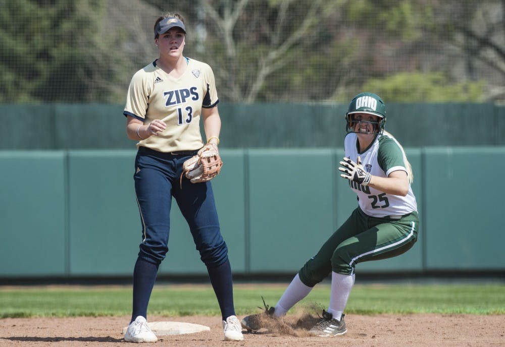 Softball: Dominant performance leads Ohio over Akron in 12-0 win