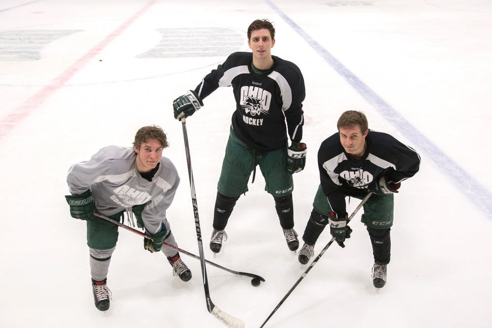 Hockey: How Tyler Harkins and Cody Black overcome their size and find production on the ice