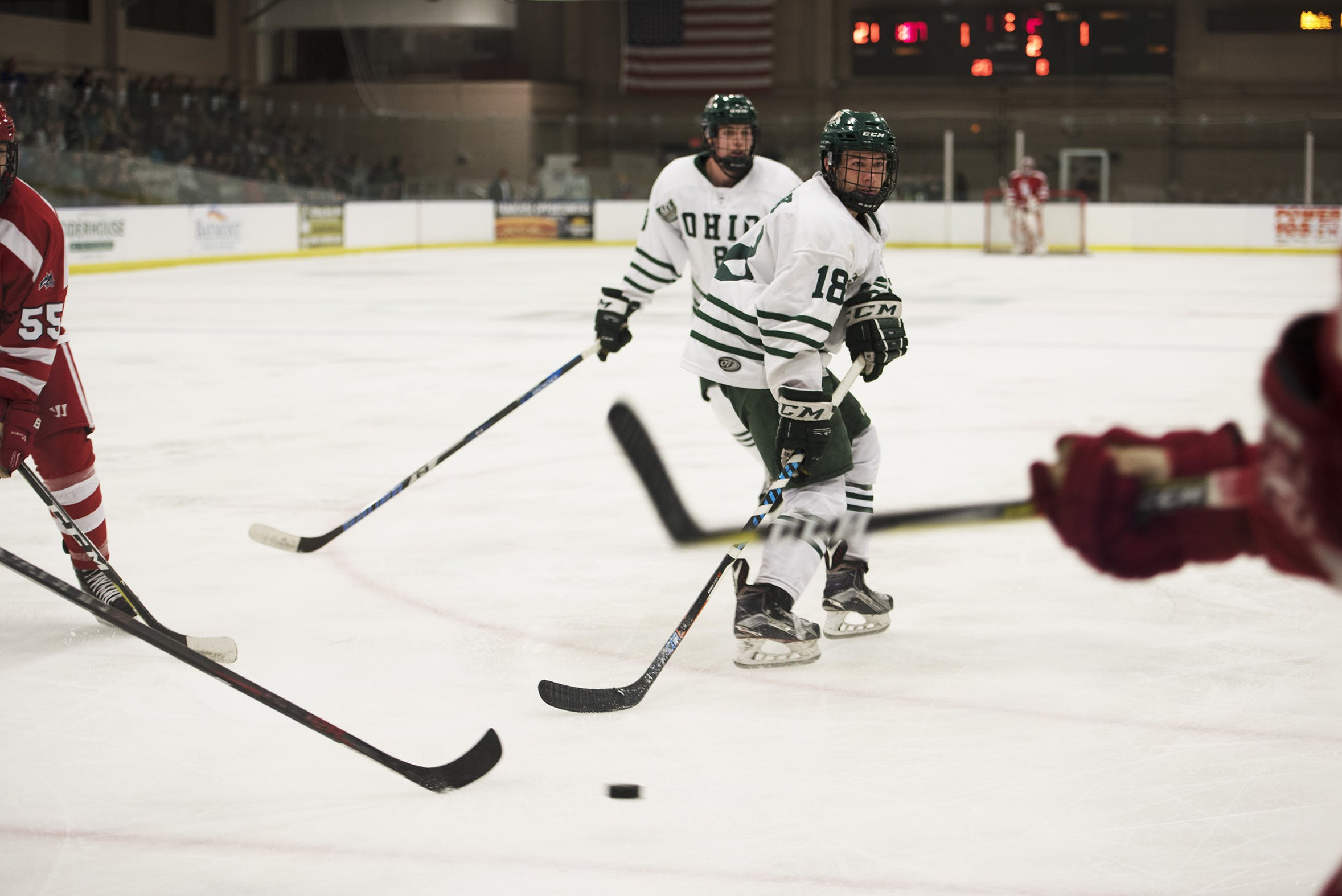 Hockey: In just one weekend, Ohio proved that it can last with short roster