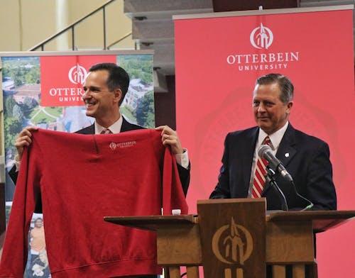 John Comerford revealed as 21 president of Otterbein University