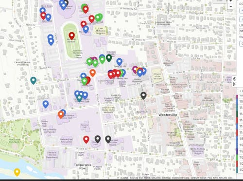 Otterbein Crime Map updated for the week of the 29th of January.