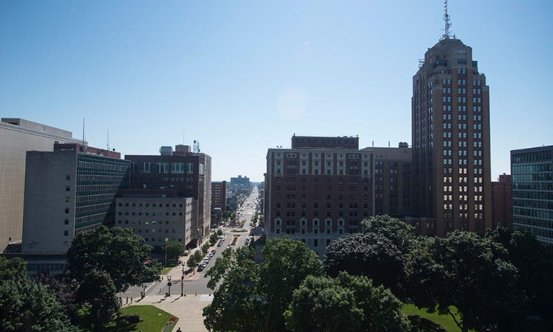 view of michigan ave
