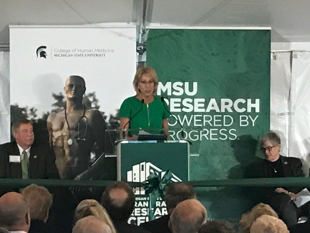 MSU dedicates Grand Rapids Research Center