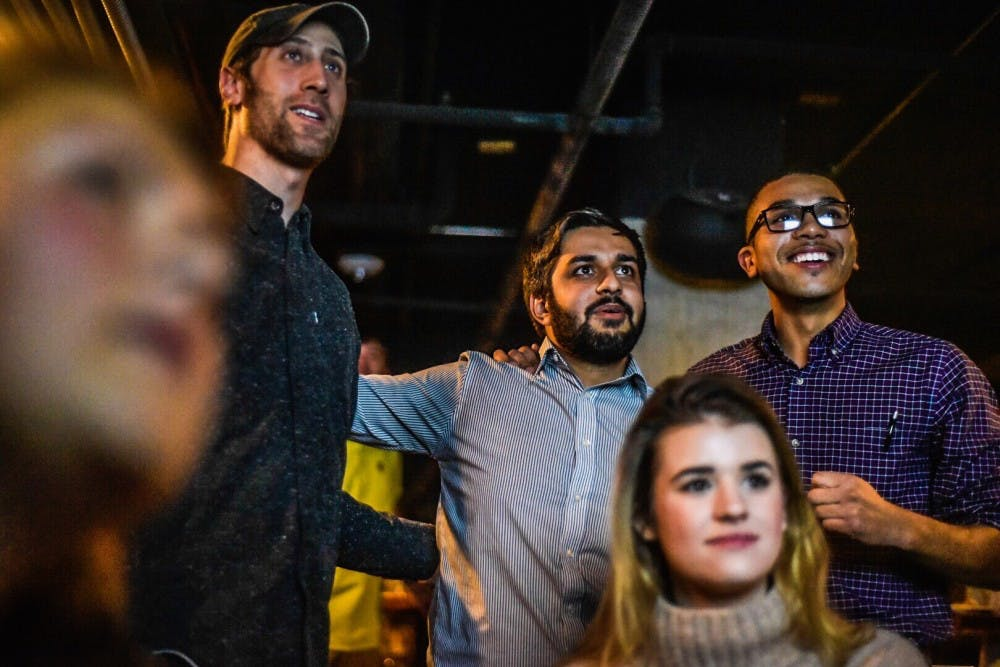 Aaron Stephens watch party 11/7/17