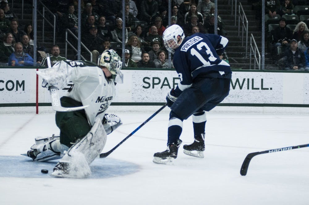 Nittany Lions Earn Split With 3-2 Victory Over Michigan State