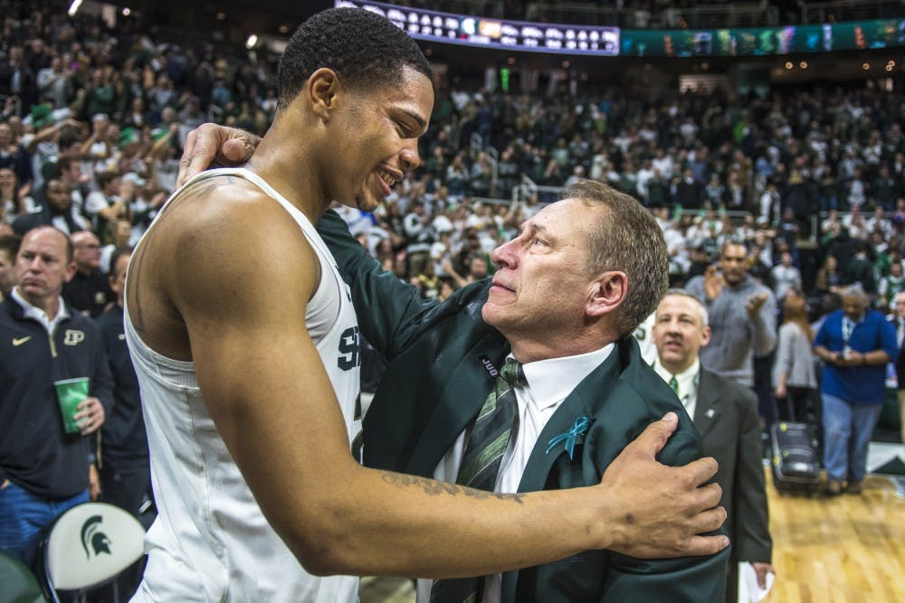 Tom Izzo issues statement regarding Miles Bridges' mother, NCAA corruption probe