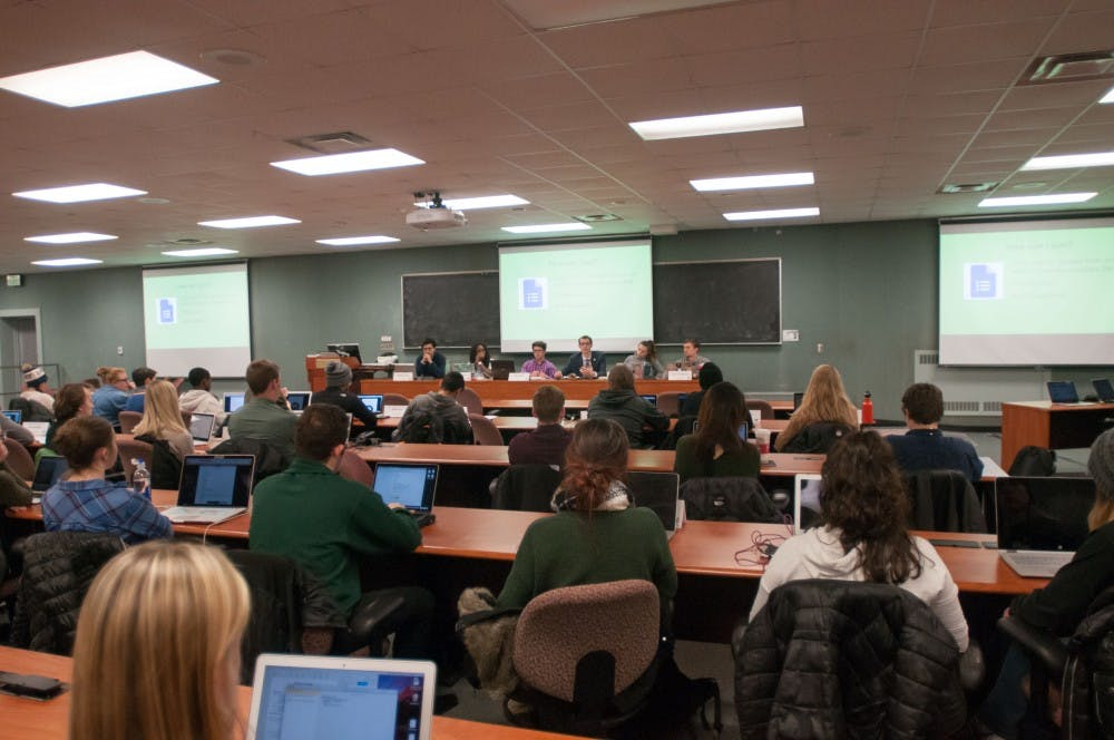 Group speaks out at MSU trustees meeting, calls for change