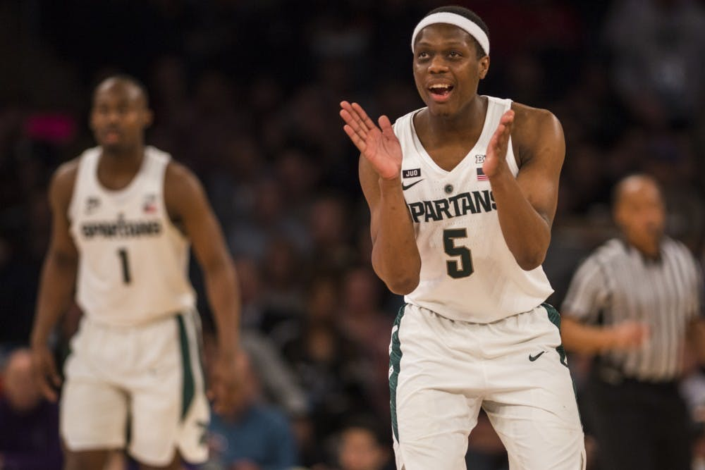 Dienhart: Michigan State shakes rust, shuts the door on Bucknell