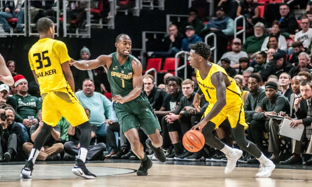 Five in double figures as Michigan State beats Oakland, 86-73