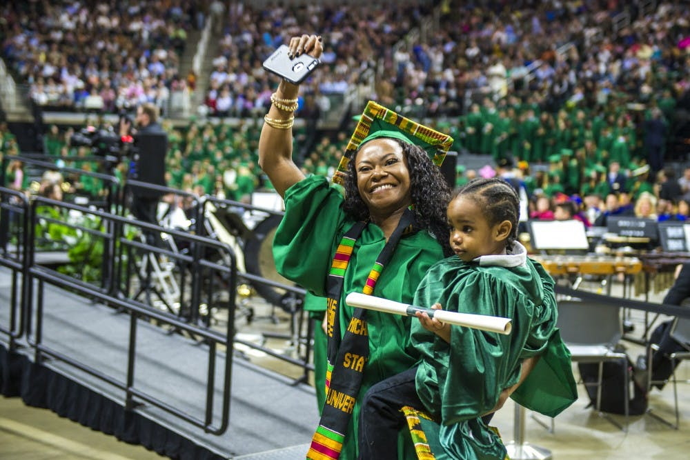As graduation nears, MSU student reflects on life as a single parent ...