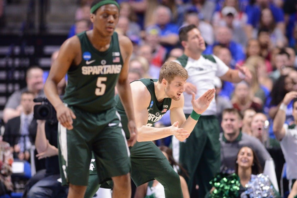 Michigan State routs Hillsdale in exhibition