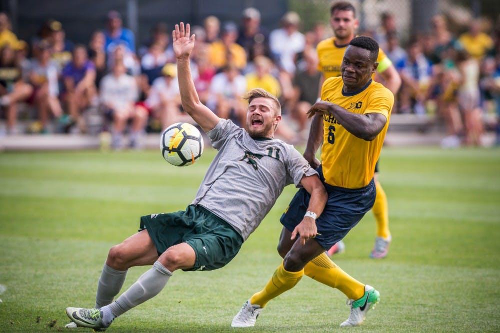 Men's Soccer vs. Michigan 9/17/17