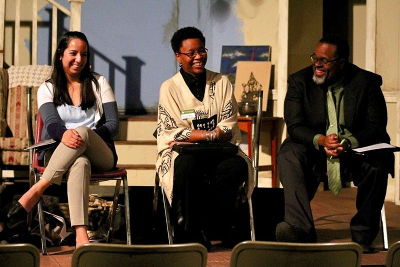 After the show, a panel took place that talked about the themes in the play relating to race and diversity.