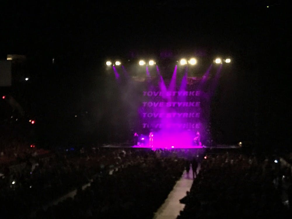 """Swedish pop sensation Tove Styrke performed her top songs including """"Say My Name"""" on Saturday night at the Moda Center during her opening set before Lorde took the stage."""