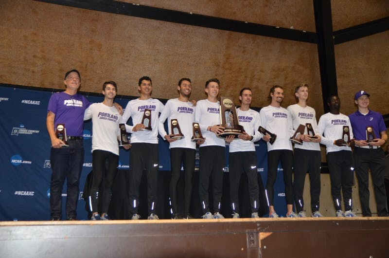 The men's team had their best finish in program history on Saturday.