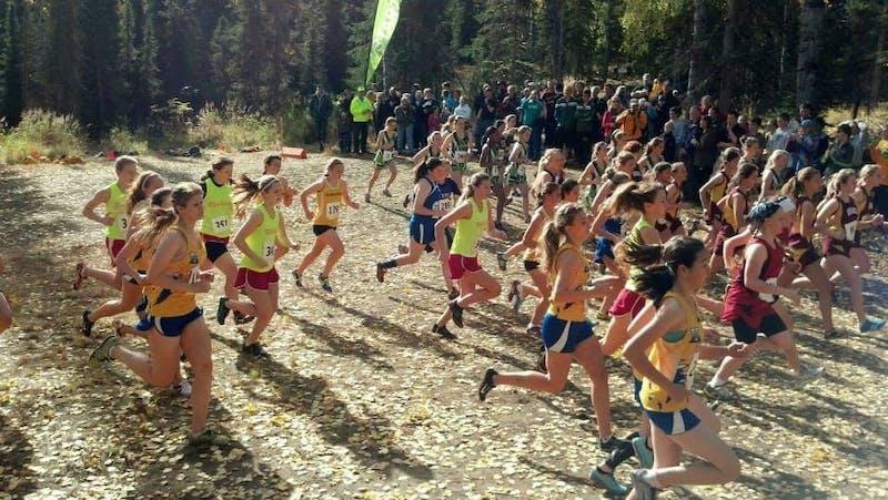 Astrid Schik first began running on her middle school team in Kodiak, Alaska. Photo courtesy of Astid Schik.