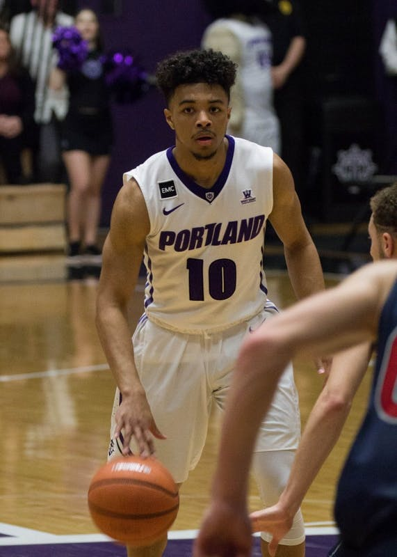 Marcus Shaver Jr.'s 15 point effort not enough to carry the Pilot's to a win over #15 St. Mary's.