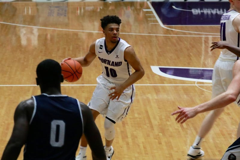 Freshman Marcus Shaver Jr. lead the Pilots in assist playing a critical role helping the pilots earn a win.