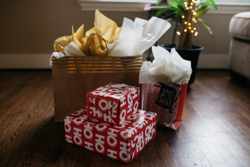 Gift giving is a holiday tradition many people take part in.