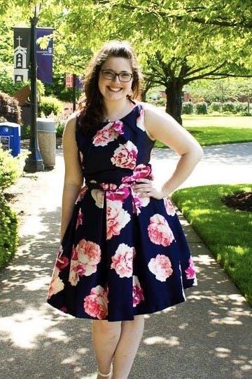 Amelia Hillier is a University of Portland alumnus ('16).