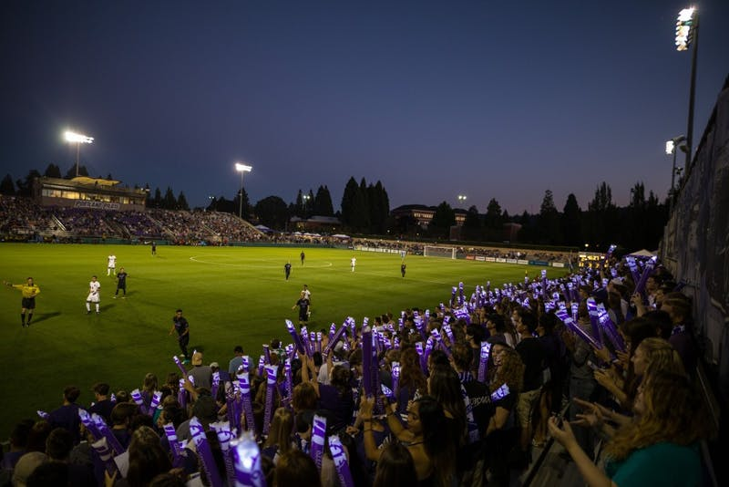 University of Portland Women's and Men's Soccer teams take stand amidst Wallys controversy.