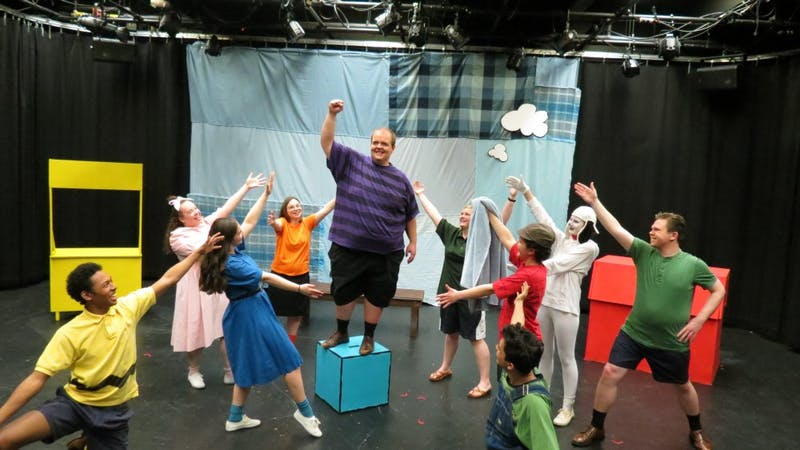 "ActUP will be performing ""You're A Good Man Charlie Brown"" at Blair Studio Theatre in Mehling Hall, this Friday and Saturday at 7:30 pm, and on Sunday at 2:00 pm."